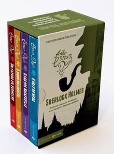 Box Sherlock - Romances - Edição Bolso de Luxo - Clássicos Zahar