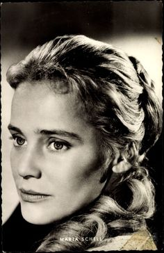 Maria Schell...maybe im related to her...i mean..she is pretty good looking ;p