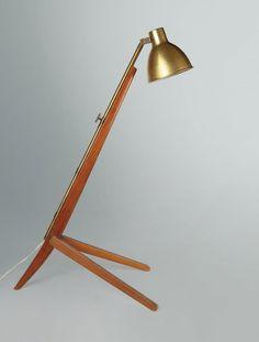 FRANCO ALBINI Un prototipo della lampada : Lot 2140