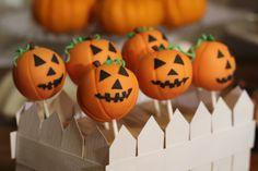 Pumpkin Patch Cake Pops