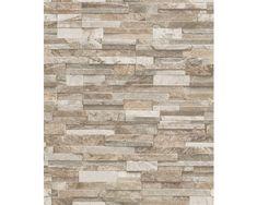 Vinyl stone wall