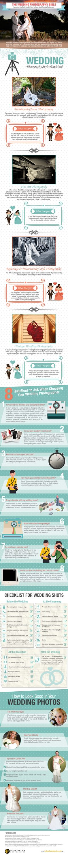 The Wedding Photography Tips Bible. Wedding photography can be a tricky subject, but this helps a lot and is something I will keep in mind
