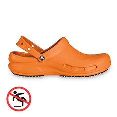 Wear this Crocs Bistro Mario Batali Clogs to brighten your workday. Find them at allheart.com.
