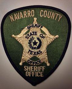 Navarro county Sheriff TX