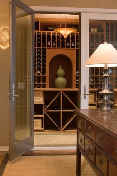 wine cellar..just never know when you will be holding that winning lottery ticket...I just want to be prepared! LOL