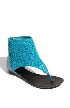 N.Y.L.A. 'Razzy' Crochet Sandal | Nordstrom - StyleSays