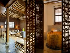 Amanfayun, a new Áman resort on the outskirts of the ancient city of Hangzhou, China.