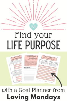 This goal planner includes a goal setting process that can do wonder in your life if your lacking motivation and need some inspiration to get your life moving again. Goals Planner, Life Planner, Fitness Planner, Happy Planner, Coping Skills, Life Skills, Goal Journal, Journal Ideas, Wellness Plan
