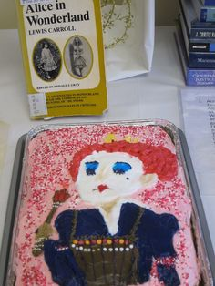 Alice in Wonderland @ the Edible Book Festival 2012