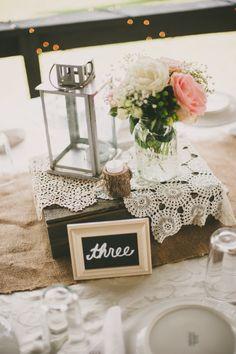 rustic table setting | Beca Companioni Photography