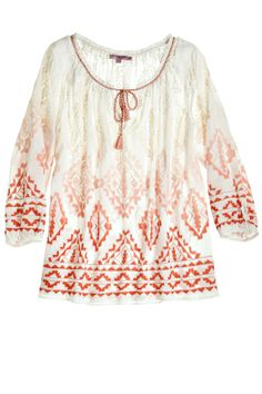 embroidered tunic | csb
