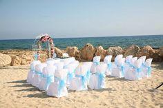 Paradise Sands, Cyprus #beachwedding