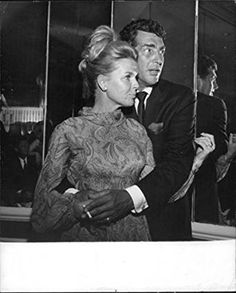 Vintage photo of Dean Martin with wife Jeanne. Description from ebay.com. I…