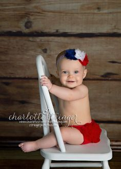 Fourth Of July Red white and Blue Set Chiffon by my2lilpixies, $16.95