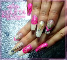 Nailart and Nail-Designs for you. Lovely Nails and beautiful hands for everybody. We welcome you at Nailsalon Violeta Nails Nagelstudio München.... ♥ no stickers, everything handmade ;) #nailart #nagelstudio #muenchen #nageldesign #amazing #violetanails #fashion #style #stylish #love #me #cute #nails #awesome #beauty #beautiful #pretty #instanail #girl #girls #design #model #dress #post #outfit #shopping #glam #naildesign #violetanails #pink