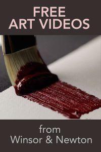 Art Instruction - FREE Masterclass art videos from Winsor & Newton