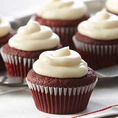 Now everyone can enjoy deliciously moist Red Velvet Cupcakes. Perfect for celebrations and everyday baking.