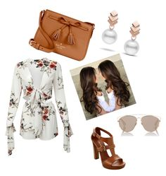 """""""Casual outfit"""" by jeimy-marchena-a on Polyvore featuring moda, Kate Spade, Christian Dior y Escalier"""
