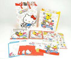 Sanrio Hello Kitty x FIFA 2014 Stickers Limited Edition - A Cute Shop