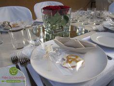 Mise En place di un 50esimo anniversario di matrimonio