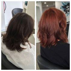 Olá Florence   #redhair #redhairdontcare #florence #olaplexportugal #olaplex #transformation #change