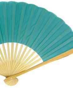 Silk Folding Fans in 24 colors!