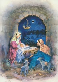 Count down the days until Christmas day with this lovely Manger advent calendar! Christmas Nativity Scene, Christmas Scenes, Christmas Love, Christmas Pictures, Christmas Greetings, Christmas Crafts, Christmas Decorations, Christmas Jesus, Xmas