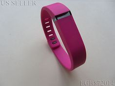 Fitbit Flex Small Replacement Band (Pink)+ Free Metal Clasp+ Free Cleaning Cloth