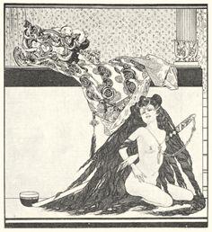Das Schöne Mädchen von Pao – La jolie fille de Pao - Franz von Bayros