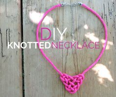 Learn How to Tie a Celtic Triangle Into a Stylish Necklace!