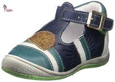 Catimini Courlis, Chaussures Marche Bébé Garçon, Bleu (12 Vte Marine/Vert Dpf/Milk), 22 EU - Chaussures catimini (*Partner-Link)