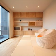 Japanese Living Rooms, Japanese Home Decor, Japanese Interior, Japanese House, Minimalist Room, Minimalist Interior, Japan Modern House, Japan Room, Living Roon