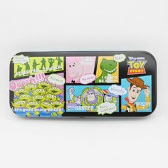 Disney Toy Story comic style bling bling surface pencil case (From Japan)