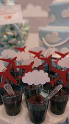 Planes Birthday, Planes Party, Airplane Party, 3rd Birthday Parties, Baby Birthday, Canada Party, Goodbye Party, Diy Party Decorations, Childrens Party