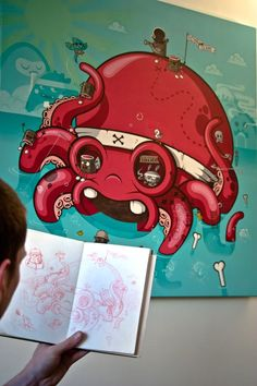 "WIP ""Octopus Island"" // FAKIR"