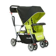 Joovy® Caboose Ultralight Tandem Stroller in Greenie - buybuyBaby.com