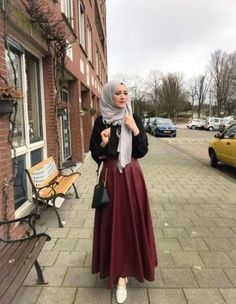 Combination Tricks Hijab Vintage For Women25