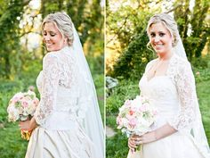 lace bolero; updo; veil; lace jacket; wedding updo; wedding makeup