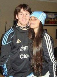 Messi And His Wife, Antonella Roccuzzo, Leo, Lionel Messi, Adidas Jacket, Rain Jacket, Windbreaker, Football, Couples