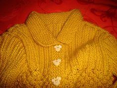 Apontamentos culinários e outros: Casaco em tricot para menina de 3 anos