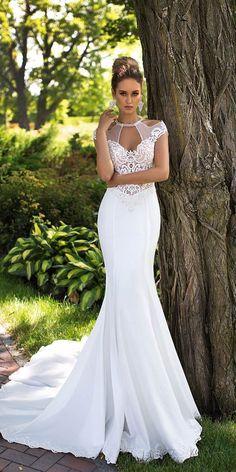 Ida Torez Wedding Dresses 2017 / http://www.deerpearlflowers.com/wedding-dresses-we-love-for-2017/3/
