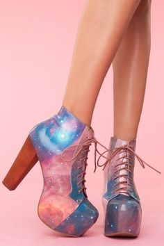 Lita Platform Boot in Cosmic - Jeffrey Campbell