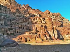 Petra, Jordan - what you need to know before visiting - Go Restless New Seven Wonders, Rose City, World Heritage Sites, Petra, Monument Valley, Mount Rushmore, Mountains, Travel, Viajes