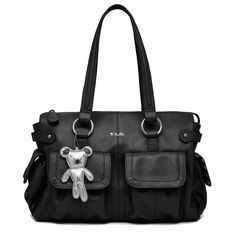 Buy Il Tutto Mia Leather Tote Nappy Bag - Black by Il Tutto online and browse other products in our range. Buy instore or online with fast delivery throughout Australia. Nappy Bags, Diaper Bag, Leather Baby Bag, Best Black, Hospital Bag, Trendy Baby, Black Leather, Australia, Stylish