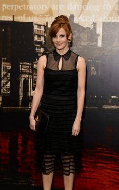 Louise Brealey at Specsavers Crime Thriller Awards - 24th October 2014