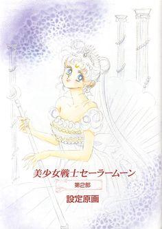 Princess Serenity : Bishoujo Senshi Sailor Moon Materials Collection by Naoko Takeuchi