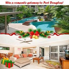 Shantara Resort are treating one lucky couple to a holiday in Port Douglas with our Christmas Competition! To be entered in the prize draw just like and share this post and comment in 25 words or less why you should win a tropical getaway! Whats the prize?  3 nights accommodation in our One Bedroom Pool View apartment! Continental Breakfast Hamper Return airport transfers Bubbles on arrival A return diamond view Skyrail experience! A full day trip out to the Daintree Rainforest with Daintree…