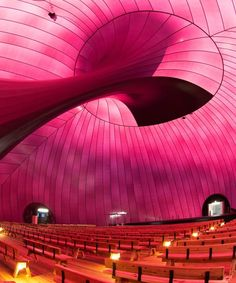 Ark Nova – The world's first inflatable concert hall that accommodates between 500 and 700 audience members. It will embark on a tour through areas of Japan affected by the 2011 earthquake and tsunami, hosting concerts, workshops, and other performances along the way as part of the Lucerne Festival.