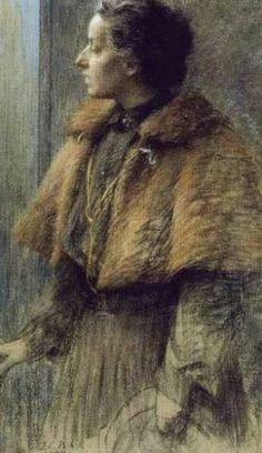 Underpaintings: June 2010 / Louise-Catherine Breslau, Self-Portrait, 1904