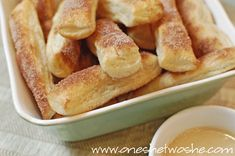 Quick and Easy Churros ~ Perfect for Your New Year's Eve Party!